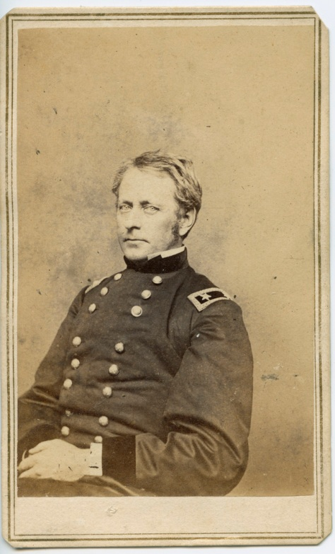 CDV, General Joseph Hooker, by Mathew Brady