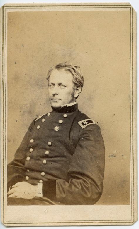 CDV, General Joseph Hooker, by Mathew Brady