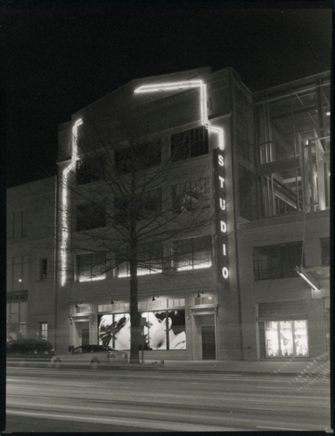 Studio Theater, 14th Street, Night
