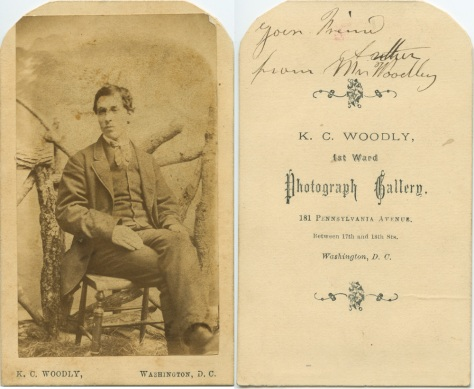K.C. Woodly CDV, Washington DC