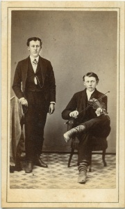 Anonymous, Twin(?) brothers, ca. 1870