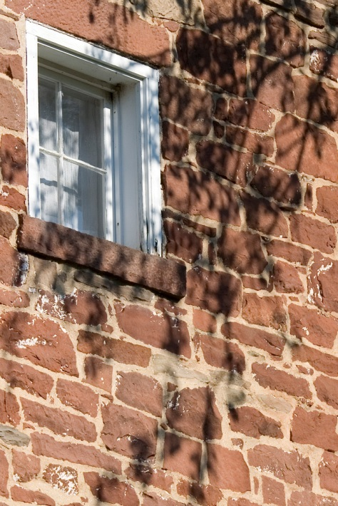 Canal House Window, Left