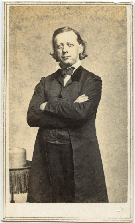 CDV of Henry Ward Beecher, photographer unknown (probably Brady)