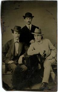Tintype, Three Dandys