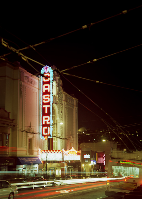 The Castro Theater marquee