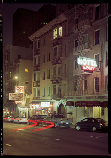 Grant Hotel and the Nob Hill Theater, Bush Street