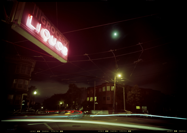Grocery & Liquor, Moon, 17th Street, Castro