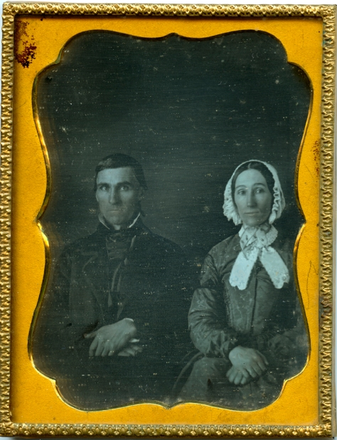 Anonymous, Daguerreotype, Couple, Charlottesville, VA