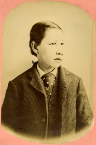 Anonymous Asian-, Native-, or African-American boy