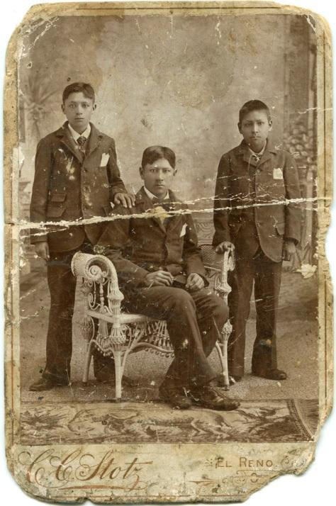 Native American trio, El Reno, Oklahoma