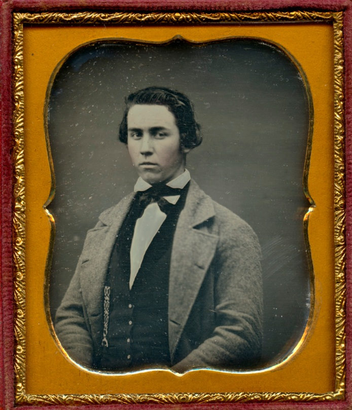Daguerreotype, Anonymous Young Man, 1/6th Plate