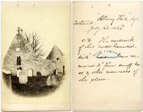 AllowayKirk, Ayr, Scotland, July 16, 1864