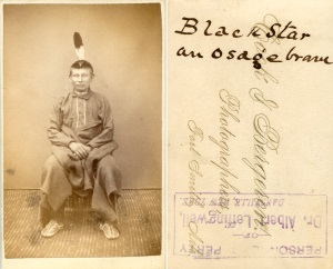 Black Star, an Osage Brave