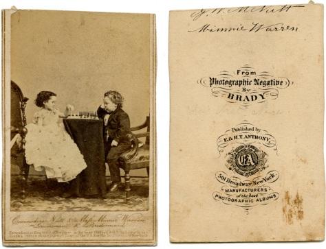 George Nutt & Minnie Warren, Groomsman & Bridesmaid