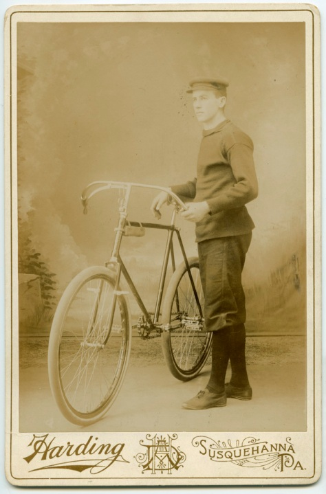 Bicycle Messenger by Harding, Susquehanna PA