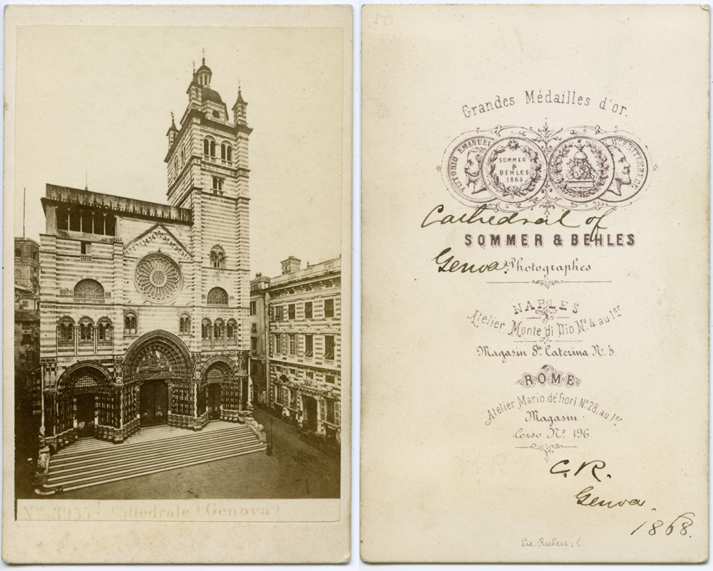 Genova Cathedral, 1868