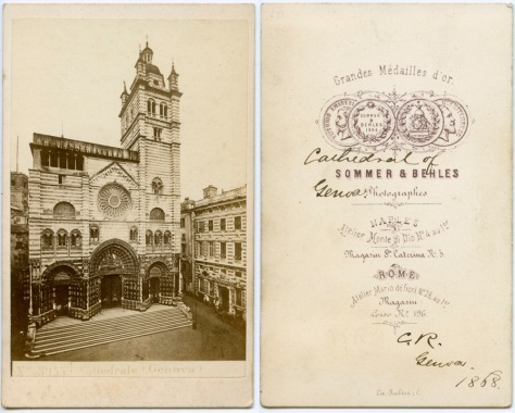 Genova Cathedral, 1868