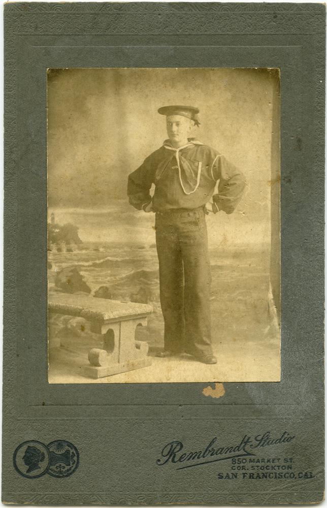 Sailor, 1890s, Rembrandt Studio, San Francisco