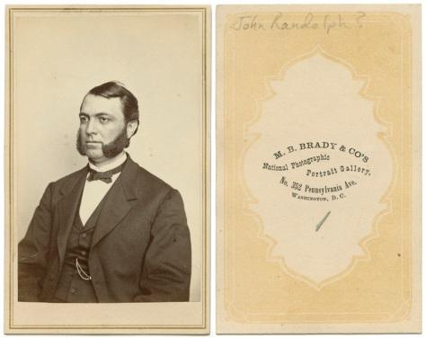 John Randolph, by Mathew Brady