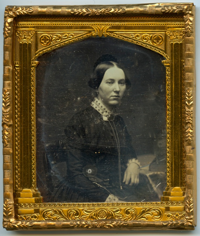 Mrs. A.A. Hill, Daguerreotype