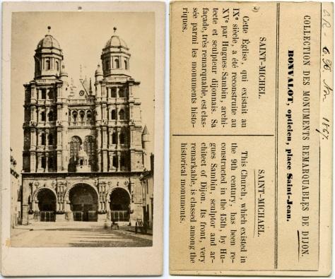 Church of St. Michael, Dijon, France, November 1867