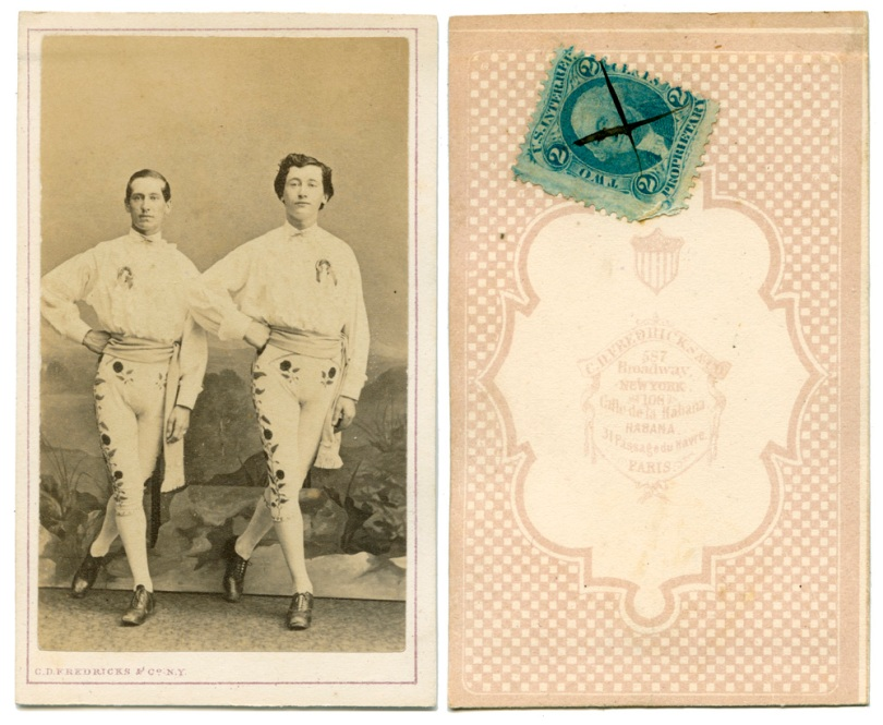 Two Toreadors, by Fredericks of New York, Havana and Paris