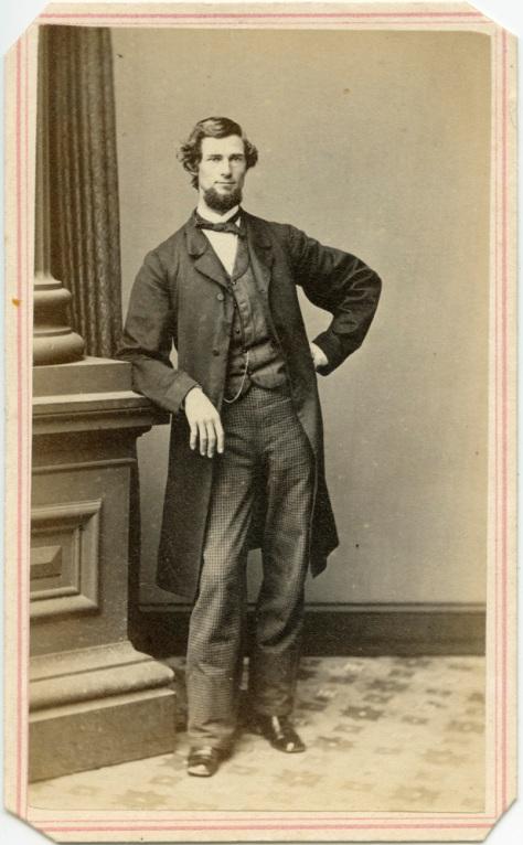 Tall lanky gentleman, R.A. Lewis Studio