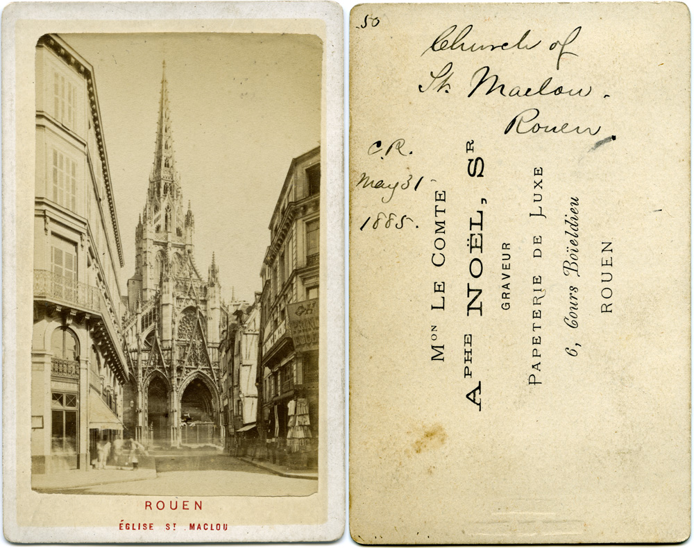 The Cathedral of Rouen, France, May 31, 1885