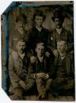 Tintype, Sextet of Gentlemen