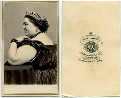 Madam Sherwood, on an E&H.T. Anthony CDV