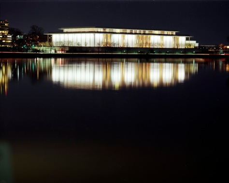 Kennedy Center, Potomac River, Night