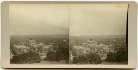 Library of Congress, as seen from the Capitol dome