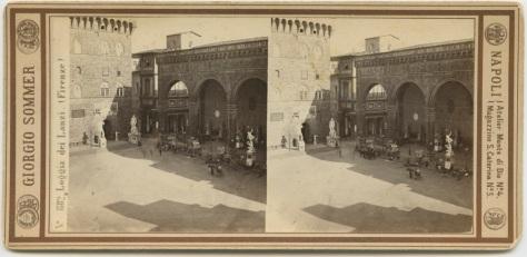 The Piazza della Signoria, Firenze