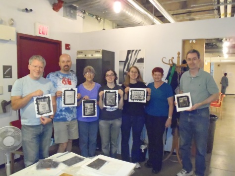 Class Photo - May 5-6 Intro To Platinum/Palladium Printing, Photoworks
