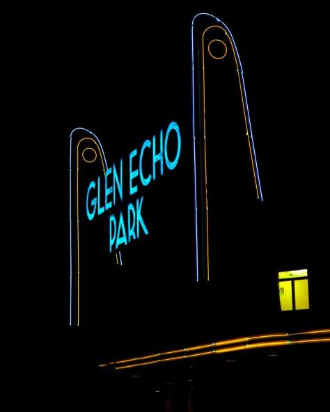 Neon, Glen Echo Park