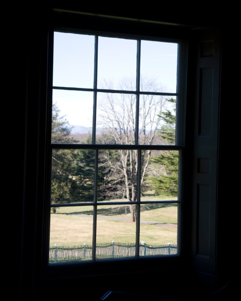 The View from James Madison's Library