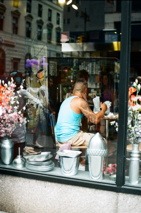 Through the Cafe Window, NY Pride 2012