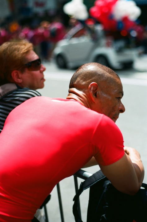 Red Shirt, NY Pride 2012