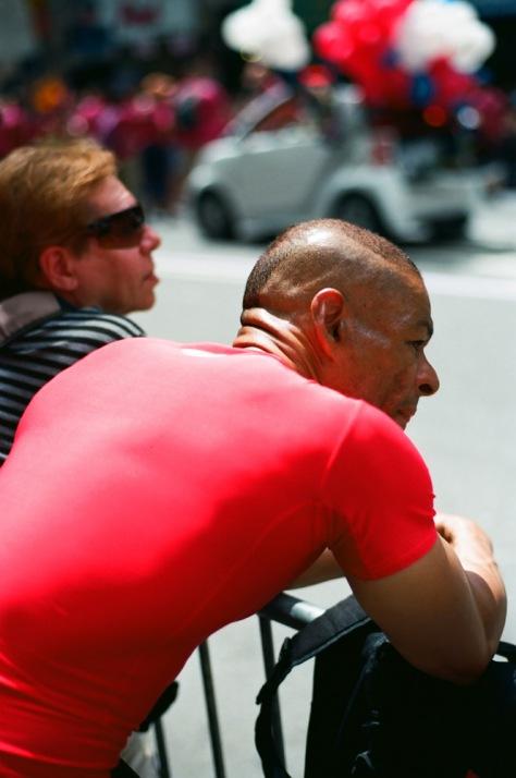 Red Shirt, NY Pride 2012
