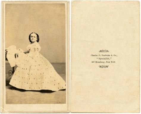 Lavinia Warren Stratton, by C.D. Fredricks
