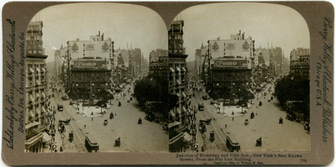 Broadway, looking North from the Flatiron Building