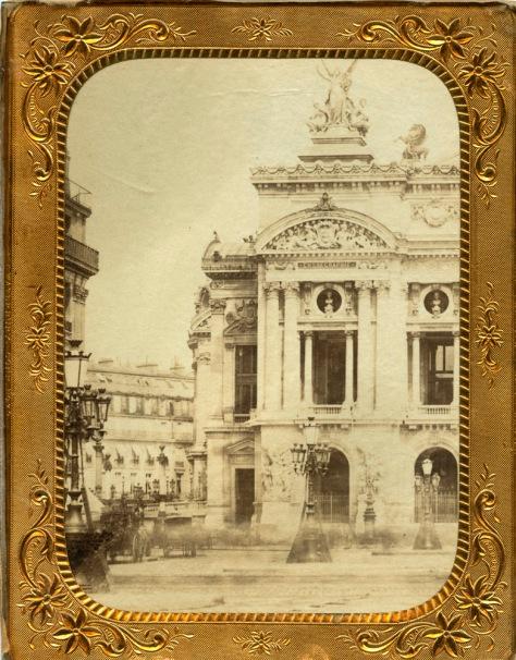 Paris Opera albumen print