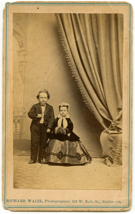 Tom Thumb & Lavinia Warren - Walzl, Photographer, Baltimore