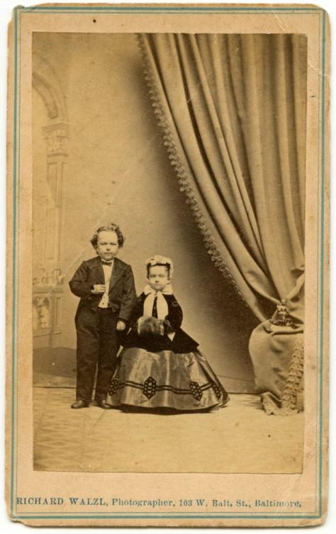 Tom Thumb & Lavinia Warren - Walzl, Photographer, Baltimore