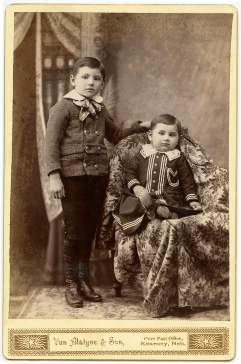 Two Native American Boys, Kearney, Nebraska