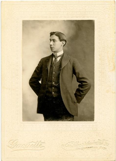 Young Man by Gaoutte, Monson, Massachussetts