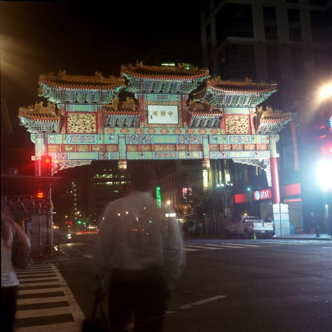 The Chinatown Friendship Arch, 7th and H Streets, NW