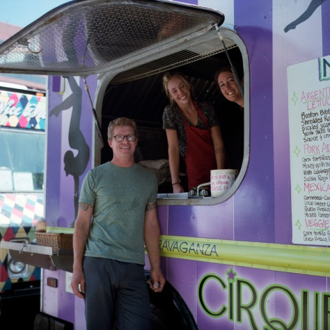 Cirque Cuisine Food Truck, Franklin Square
