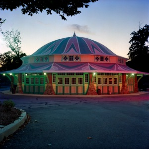 Dentzel Carousel, Glen Echo, Sunset