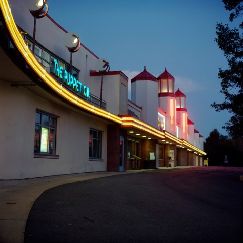 Glen Echo Arcade,Puppet Company, Twilight